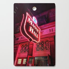 Glow forever red Cutting Board