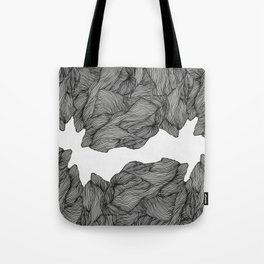 Line ridge Tote Bag