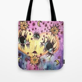 Goddess of Galaxies Tote Bag