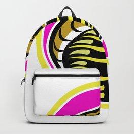 King Cobra Snake Mascot Backpack