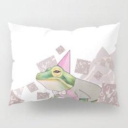 Mr Frog Pillow Sham