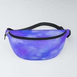 Abstract Clouds - Rich Royal Blue Fanny Pack