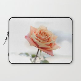 Peach Rose bloom Laptop Sleeve