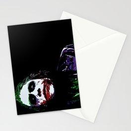 Heath's Joker Pop art Portrait Stationery Cards