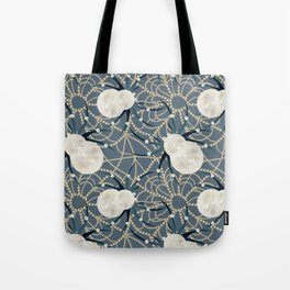a very glamorous spider Tote Bag