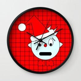 Funny Shocked Head Wall Clock