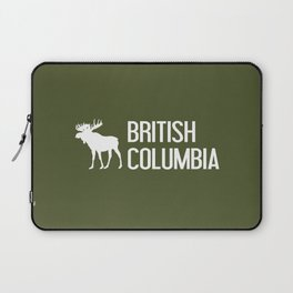 British Columbia Moose Laptop Sleeve