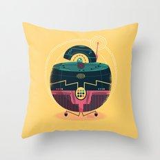 :::Mini Robot-Sfera1::: Throw Pillow