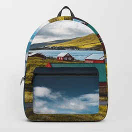 faroean village Backpack