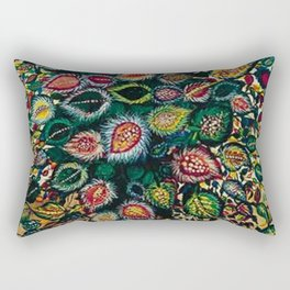 Feuilles - Leaves and Flowers by Seraphine Louis Rectangular Pillow