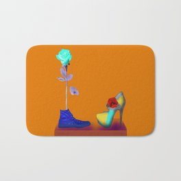 Proposal to May in May - Shoes stories Bath Mat