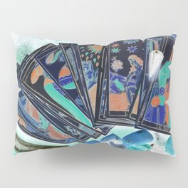 Tarot Card Mystical Gypsy Fortune Teller Fantasy Pillow Sham