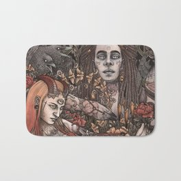 Demons In Colour Bath Mat