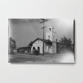 Mission Santa Cruz Metal Print