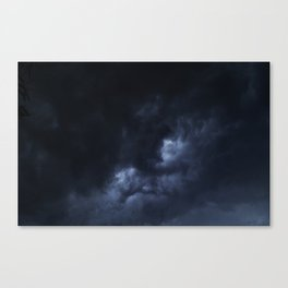 Evening Thunderstorms Canvas Print