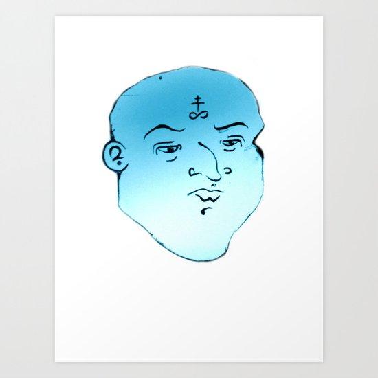 F A C E 5 Art Print
