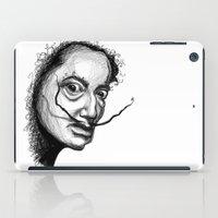 dali iPad Cases featuring Dali by Robin Ewers