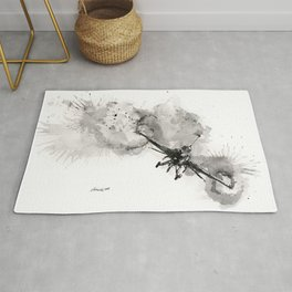 Fighting falcon Rug