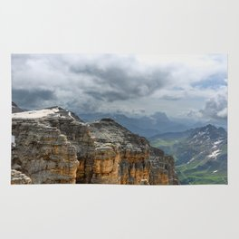 Alpine view Rug