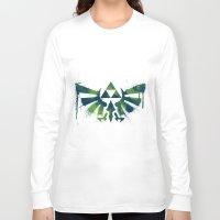 zelda Long Sleeve T-shirts featuring Zelda by Bradley Bailey