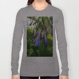 Purple Agapanthus Long Sleeve T-shirt