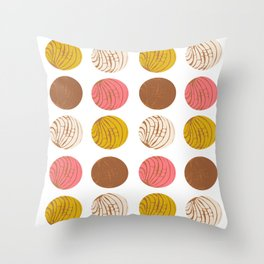 Conchas Throw Pillow