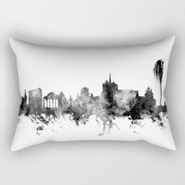 Geneva Switzerland Skyline Rectangular Pillow