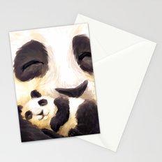 Cuddly panda Stationery Cards