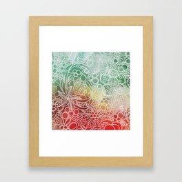 Christmas Bling Framed Art Print