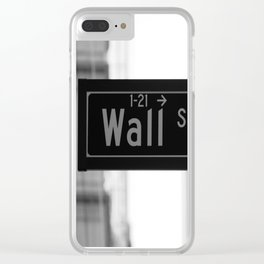 Wall St. Minimal - NYC Clear iPhone Case