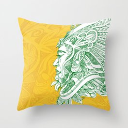 Look, its moving Throw Pillow