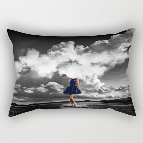 High as Sky Rectangular Pillow