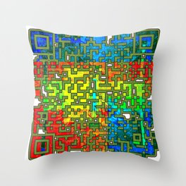 Wisely And Slow; They Stumble That Run Fast Throw Pillow