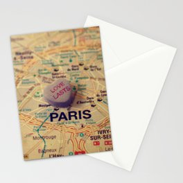 Love Lasts Paris Stationery Cards