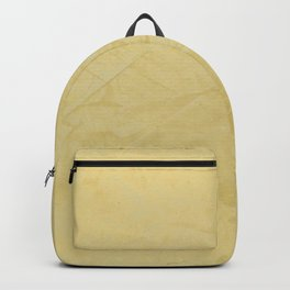 Tuscan Sun Stucco - Faux Finishes - Yellow Venetian Plaster Backpack