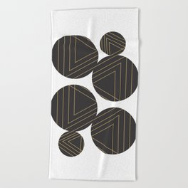 Abstract Geometry #society6 #decor #buyart Beach Towel