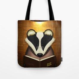 Badger Reading Tote Bag