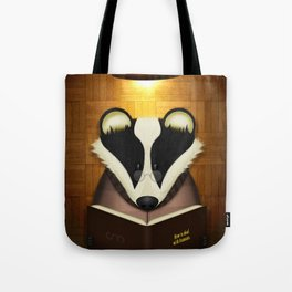 Badger Reading Tote Bag