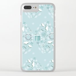 Christmas lights Clear iPhone Case