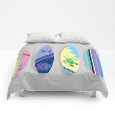 Four Surfboards Comforters