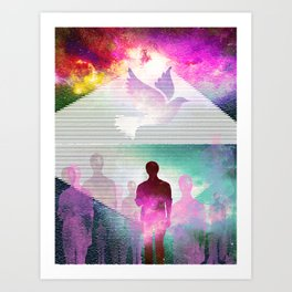 The Vacant Art Print