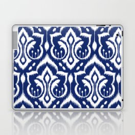 Ikat Damask Navy 2 Laptop & iPad Skin