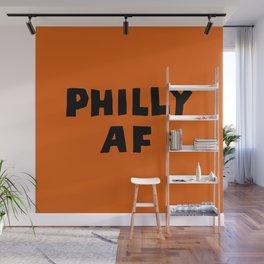 Philly AF (Orange) Wall Mural