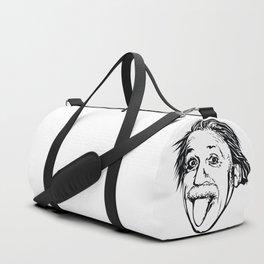 Albert Einstein With E=mc2 Duffle Bag