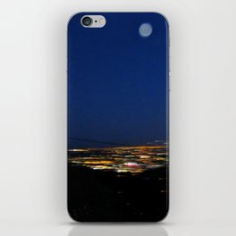 Runyon Moon iPhone Skin