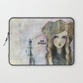 Gesso Geisha by Jane Davenport Laptop Sleeve