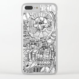 The Power Room Clear iPhone Case