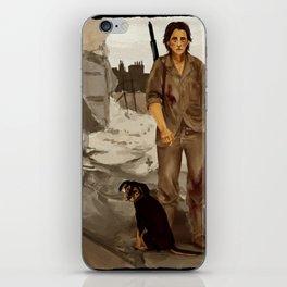 devastated iPhone Skin