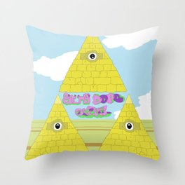 Watch The Tomb Throw Pillow