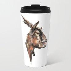 Salivating Goat Travel Mug